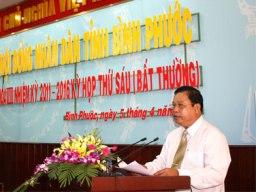 Ông Nguyễn Văn Trăm đắc cử Chủ tịch UBND tỉnh Bình Phước