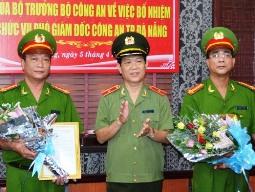 Bổ nhiệm hai phó giám đốc Công an Đà Nẵng