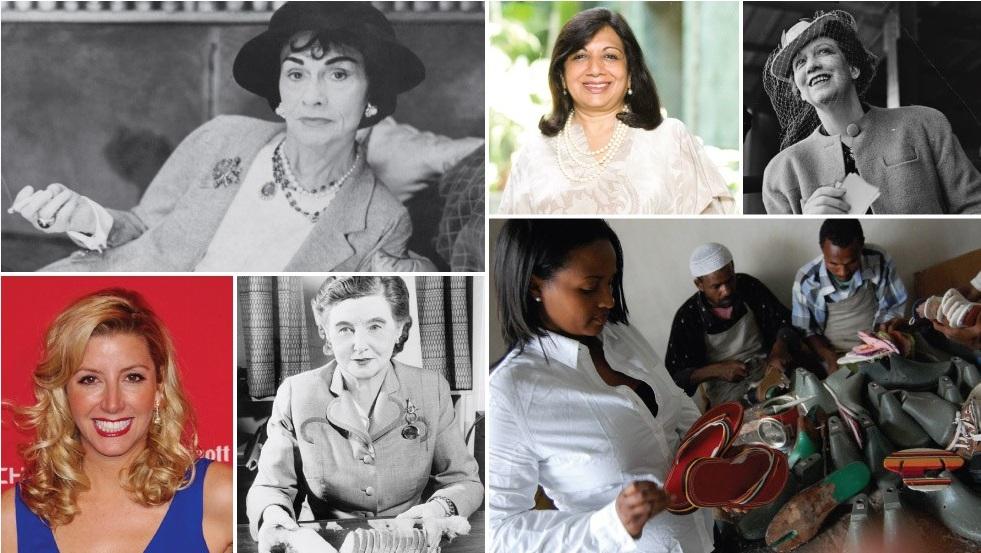 12 nữ doanh nhân thay đổi giới kinh doanh