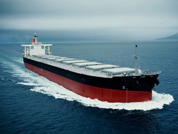 Giá vận chuyển quặng bằng đường biển tăng mạnh nhất 2 tuần