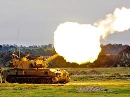Israel nã pháo đáp trả Syria