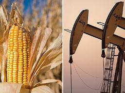 Giá hàng hóa nguyên liệu xuống thấp nhất 9 tháng