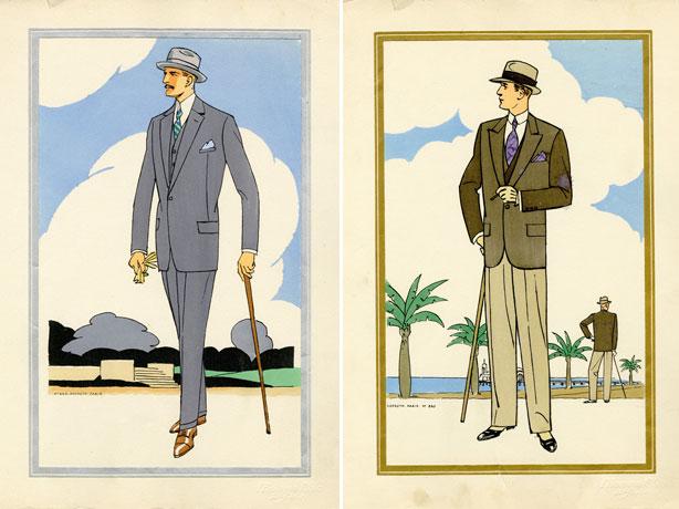Quý ông thời trang của những năm 1920