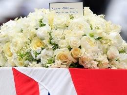Chùm ảnh lễ tang bà đầm thép Margaret Thatcher