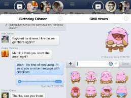 Facebook thêm tính năng Chat Heads cho iOS
