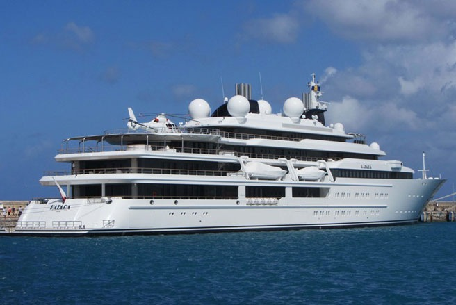 """""""Bộ sưu tập"""" du thuyền lớn nhất thế giới"""