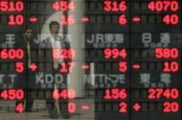 Chứng khoán châu Á giảm mạnh nhất 1 tháng
