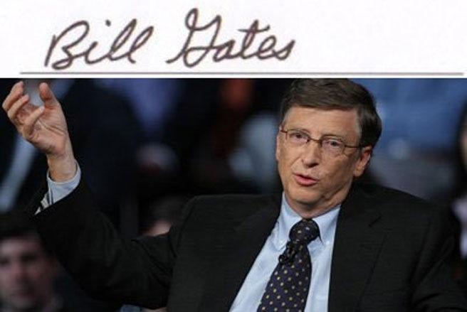 Đoán tính cách của các CEO nổi tiếng qua chữ ký