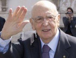 Tổng thống Italia Giorgio Napolitano tái đắc cử