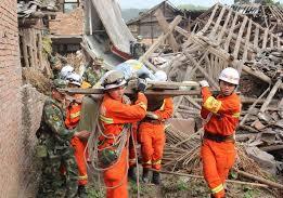 Tứ Xuyên, Trung Quốc tan hoang sau động đất