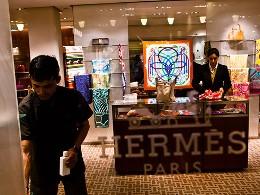 Doanh thu Hermes tăng mạnh nhờ châu Á