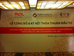 Công ty Malaysia mua lại 50% cổ phần Ngân Lượng