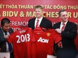 BIDV ký thoả thuận hợp tác 5 năm với Manchester United phát hành thẻ tín dụng