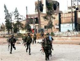 Quân đội Syria tái chiếm khu vực quan trọng bên ngoài thủ đô Damascus
