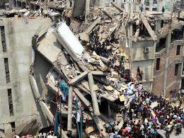 Sập trung tâm mua sắm ở Bangladesh,147 người thiệt mạng