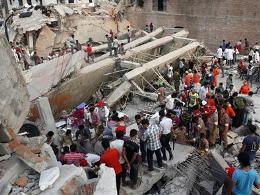 Số người chết vì vụ sập nhà ở Bangladesh lên tới 175 người