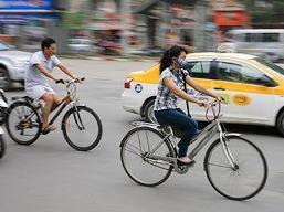 Hà Nội nghiên cứu dùng xe đạp để giảm tắc đường