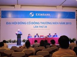 Eximbank xin ý kiến chủ trương sáp nhập với 1 ngân hàng khác