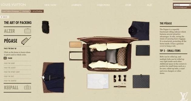 Nghệ thuật sắp xếp hành lý kiểu Louis Vuitton