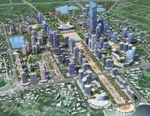 Điều chỉnh quy hoạch dự án khu đô thị Tây Hồ Tây