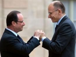 Pháp và Italia bắt tay giải quyết khủng hoảng eurozone