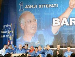 Đảng cầm quyền Malaysia giành chiến thắng trong bầu cử quốc hội