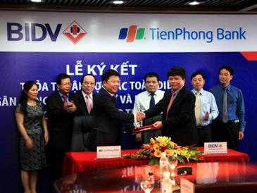 TienPhong Bank cung cấp dịch vụ cho BIDV trong kinh doanh vàng