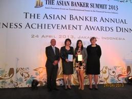 Maritime Bank nhận 2 giải thưởng của The Asian Banker
