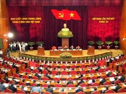 Sáng nay bế mạc Hội nghị lần 7 Ban chấp hành Trung ương Đảng khoá XI