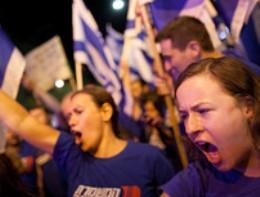 Biểu tình phản đối cắt giảm ngân sách bùng phát ở Israel