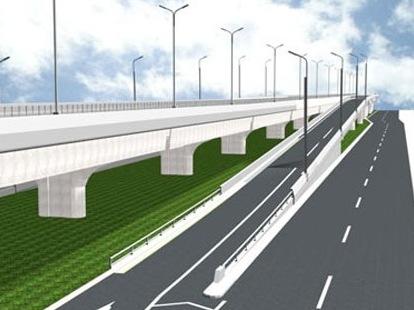 6.000 tỷ đồng xây đường trên cao đoạn Mai Dịch - Nam Thăng Long
