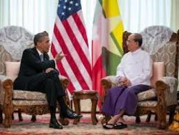 Mỹ ký thỏa thuận thương mại với Myanmar