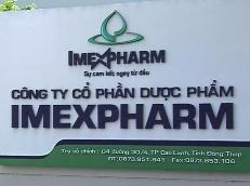 Imexpharm ngày 5/6 giao dịch không hưởng quyền cổ tức 10% tiền mặt