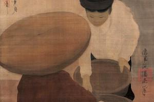 Tranh của họa sĩ Nguyễn Phan Chánh đạt giá kỉ lục ở Hồng Kông