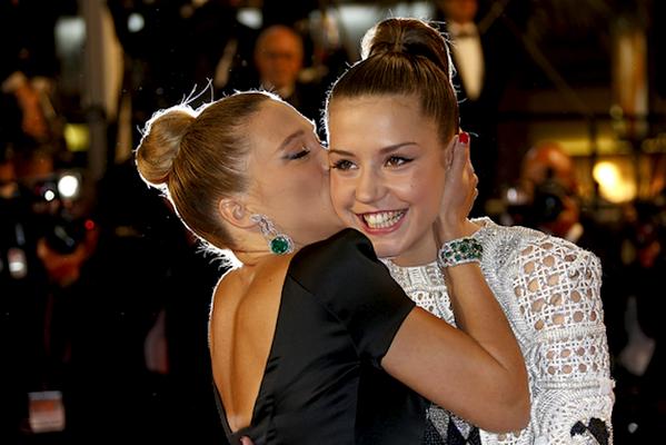 LHP Cannes 2013: Phim về đồng tính nữ đoạt giải Cành cọ vàng
