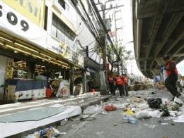 Đánh bom giữa thủ đô Thái Lan