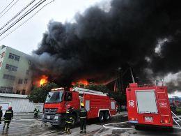Cháy nhà máy ở Trung Quốc, 119 người thiệt mạng