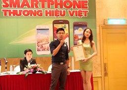 HKPhone chính thức trở thành smartphone thương hiệu Việt