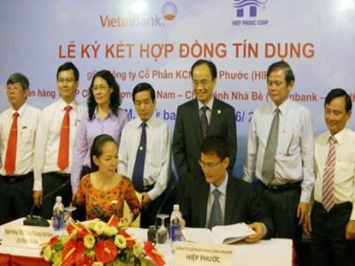 VietinBank tài trợ 515 tỷ đồng cho dự án Khu công nghiệp Hiệp Phước TPHCM