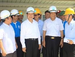 Phó Thủ tướng Vũ Văn Ninh thăm khu kinh tế Vũng Áng