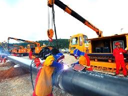 Sắp hoàn thành đường ống dẫn dầu, khí đốt thiên nhiên Trung Quốc - Myanmar