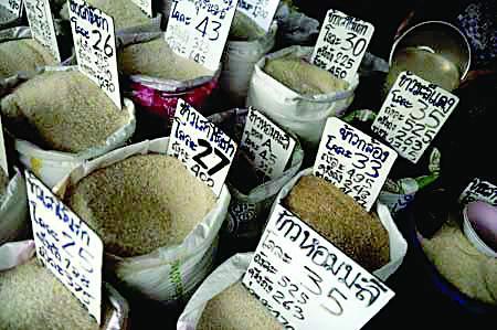 Thái Lan giảm 20% giá mua gạo tạm trữ nhằm giảm lỗ