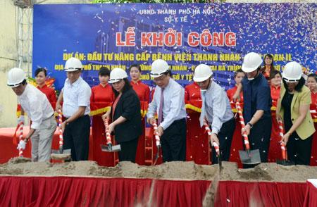 Hơn 450 tỷ đồng nâng cấp bệnh viện Thanh Nhàn giai đoạn II