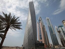 Dubai chuẩn bị khánh thành tòa tháp xoắn cao nhất thế giới
