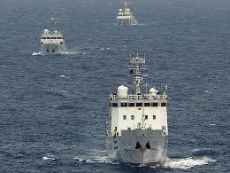 Tàu Trung Quốc tiến vào vùng biển Nhật Bản