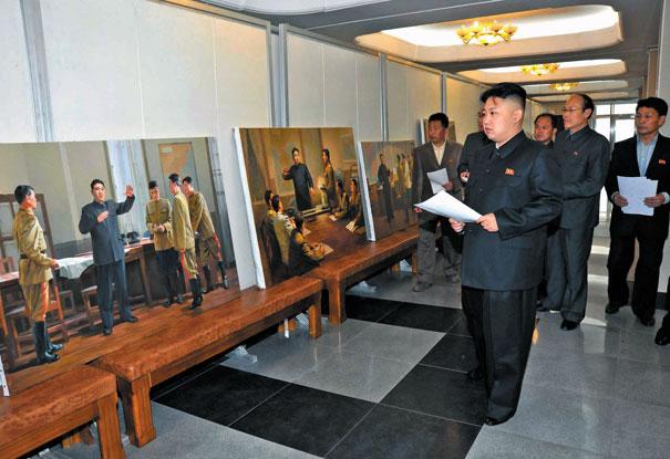 Bên trong công xưởng nghệ thuật lớn nhất thế giới ở Triều Tiên