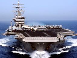 Tàu sân bay Mỹ đến Địa Trung Hải sau tuyên bố cấp vũ khí cho Syria
