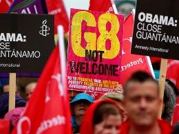 Biểu tình phản đối hội nghị G8 bùng phát tại Bắc Ireland