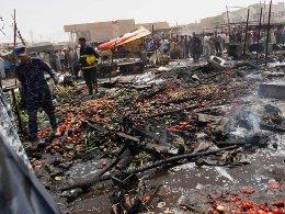 Đánh bom liên hoàn ở Iraq, hơn 30 người thiệt mạng