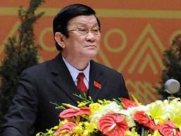 Chủ tịch nước Trương Tấn Sang nói về quan hệ Việt Nam-Trung Quốc